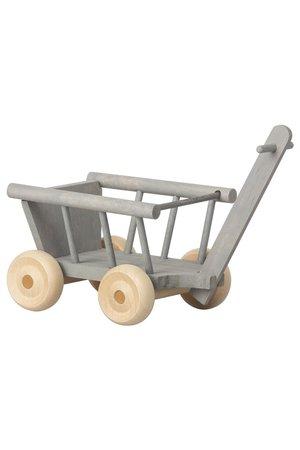 Maileg Micro wagon - mint/grey