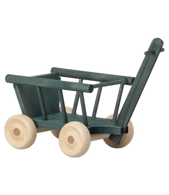 Maileg Micro wagon - petrol