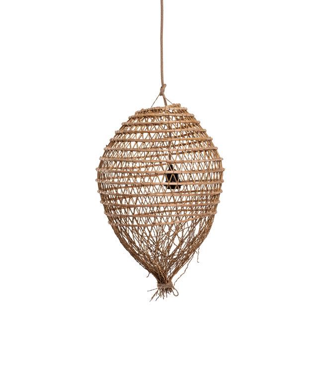 Hanglamp dadelpalm 'pomme' met franjes