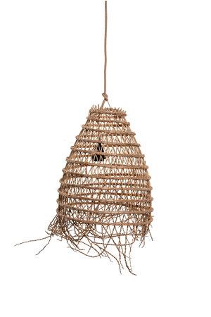 Hanglamp dadelpalm 'cloche' met franjes