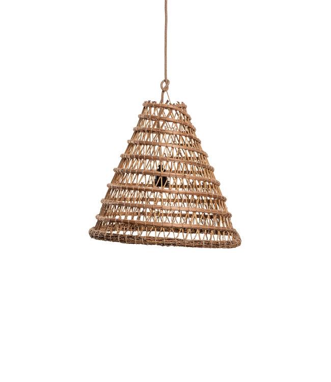 Suspension lamp date palm 'clock'