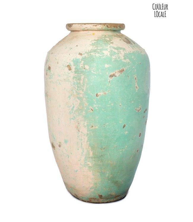 Old oil jar