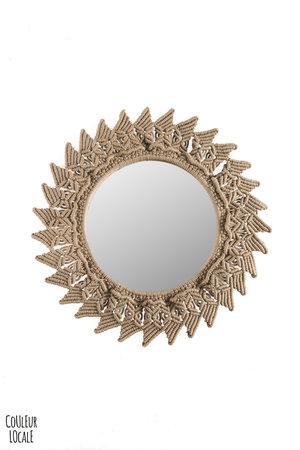 Rock The Kasbah Mirror crochet