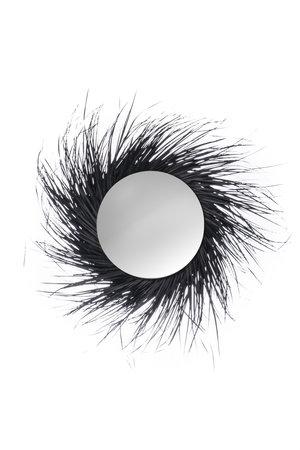Rock The Kasbah Palm spiegel met zwarte franjes