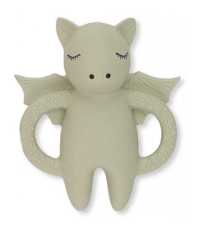 Teeth soother bat - light grey