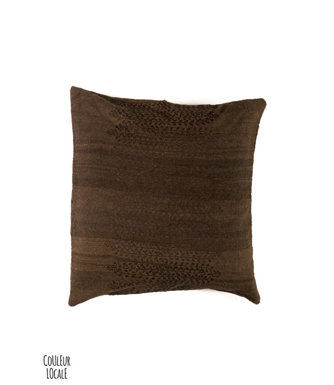 Couleur Locale Kilim cushion #22 -Morocco