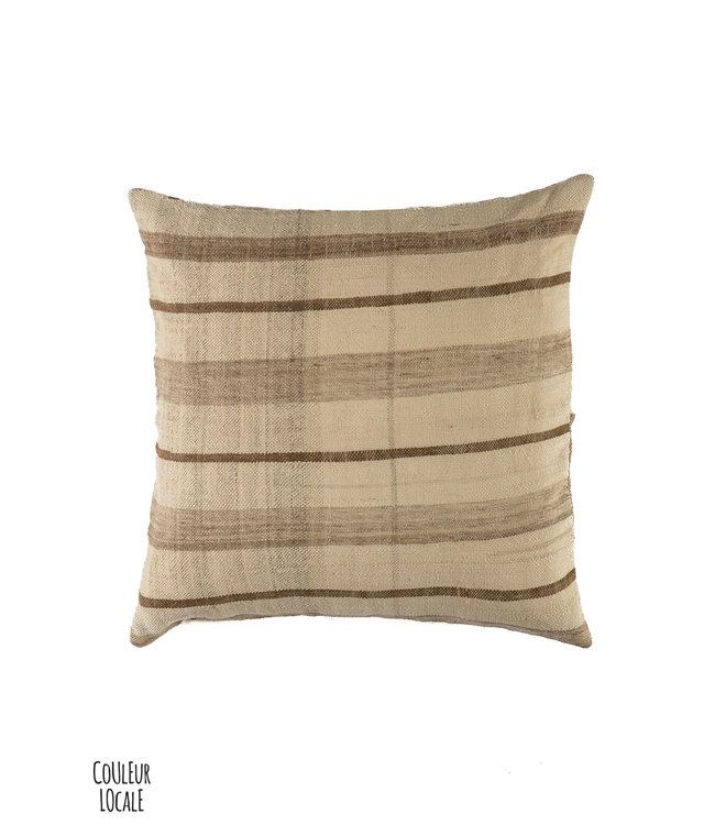 Couleur Locale Kilim cushion #19 - Morocco