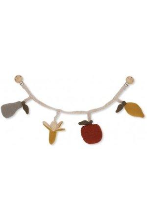 Konges Sløjd Fruit pram chain - multicolor
