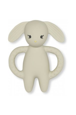 Konges Sløjd Teeth soother rabbit - clay