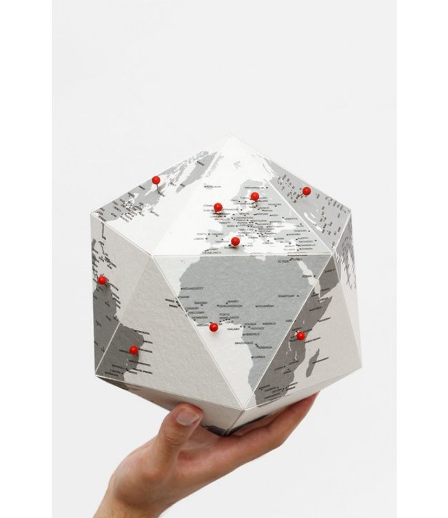 Here globe by cities
