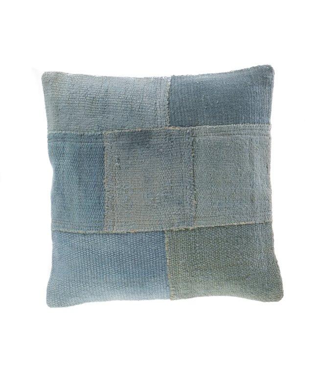 Kelim cushion - blue - Turkey