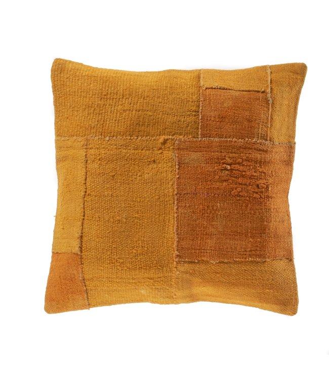 Kelim cushion - orange - Turkey