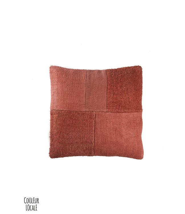 Kilim cushion - coral - Turkey