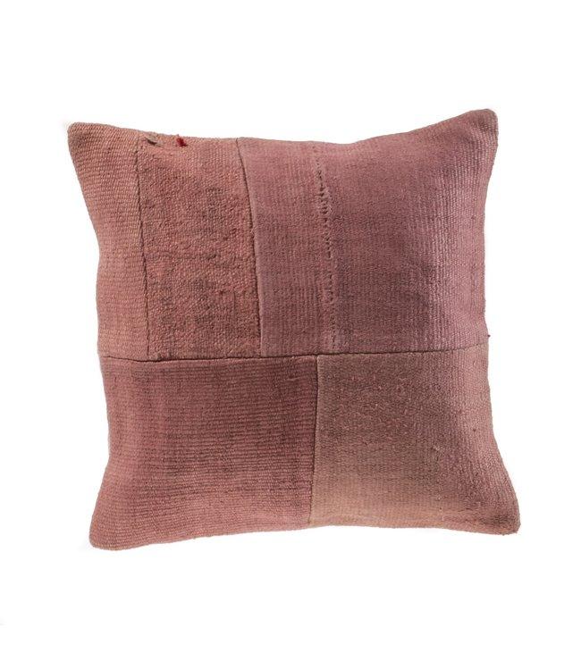 Kelim cushion - pink - Turkey