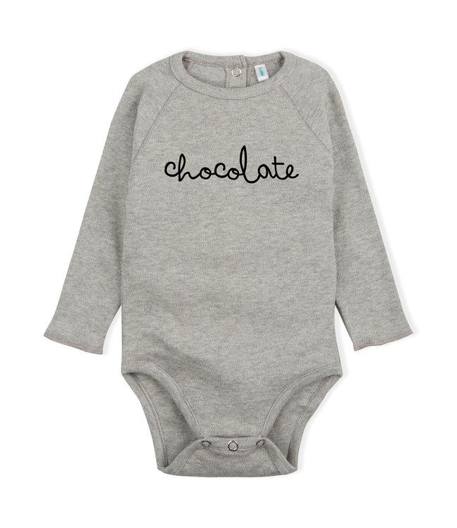 Bodysuit 'chocolate' grey