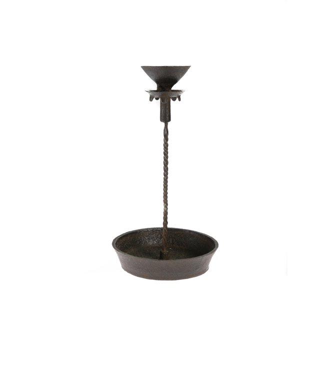 Iron candlestick high
