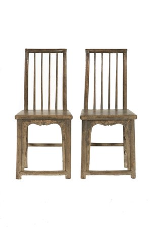 Set of two 19th century chairs