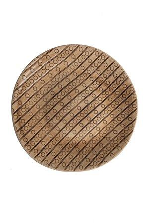 Wonki Ware Atwell dinner plate - pattern