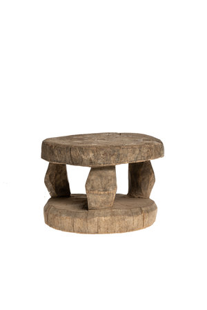 Old round stool Mossi #1