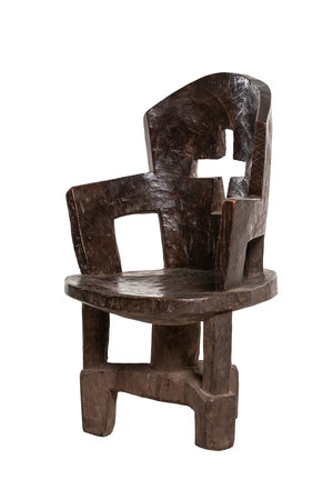 Primitieve Jimma stoel #2