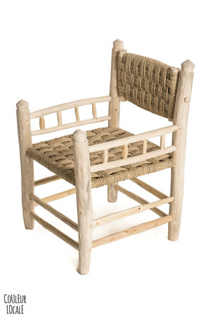 Couleur Locale Chair with woven seat