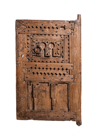 Couleur Locale Antique Berber door #4