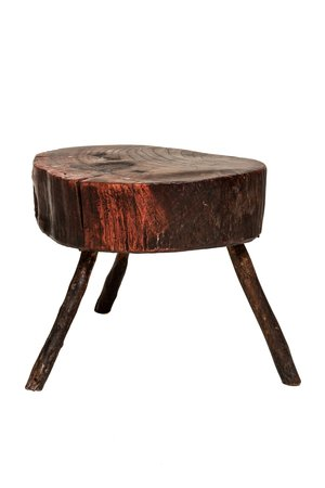Couleur Locale Old babouche chopping block #5
