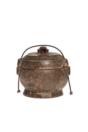 Old food bowl Tibet #10