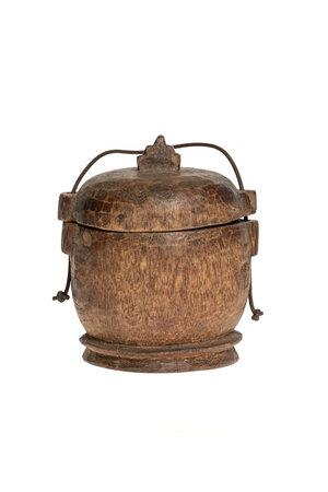 Old food bowl Tibet #12