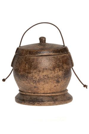 Old food bowl Tibet #13