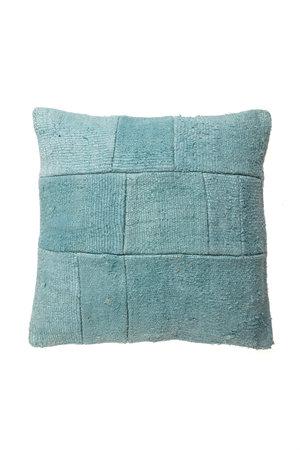 Kelim cushion - aqua - Turkey