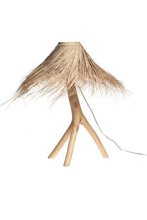 Rock The Kasbah Palm tafellamp 'Tak' - naturel