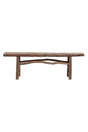 Bench elm wood 173cm