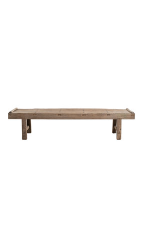 Robust coffee table elm wood - 208cm