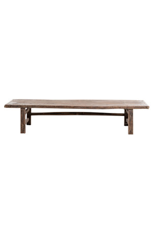 Coffee table  walnut wood - 201cm