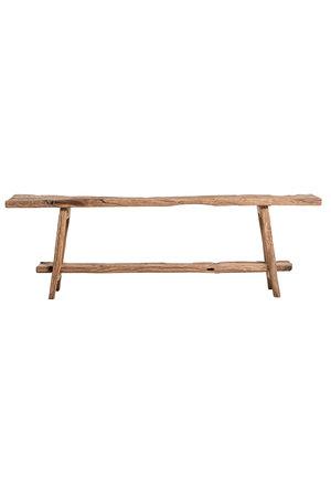 Sidetable eik dubbele plank 239 cm