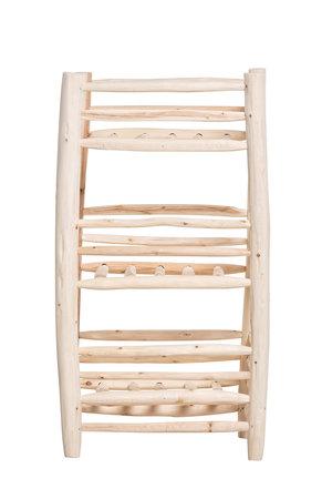 Wooden etagère