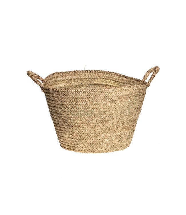 Couleur Locale Palm leaf basket Morocco