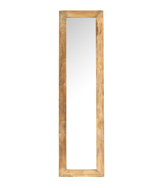 Spiegel olmhout - 40 x 160cm