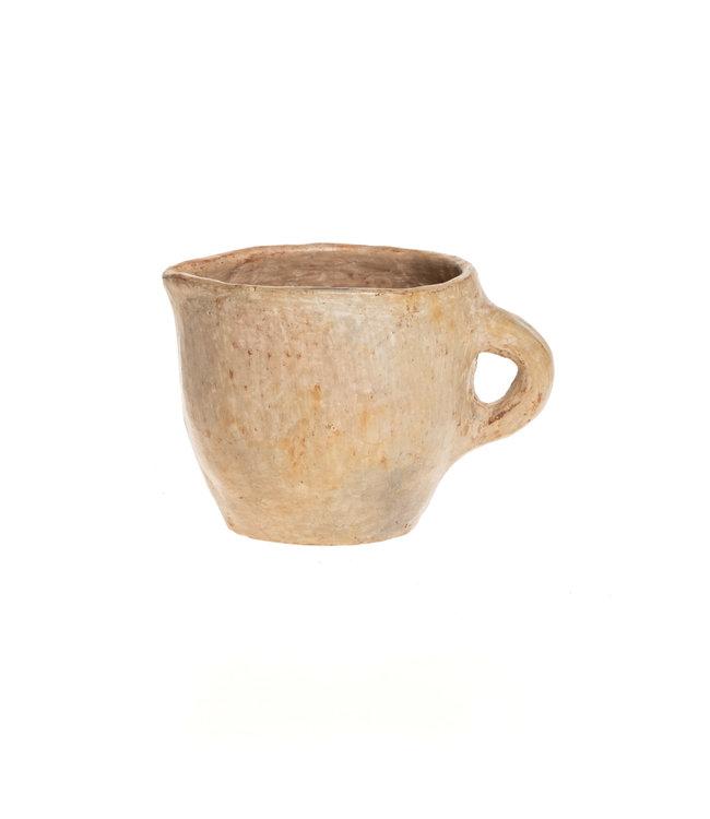 Terracotta jug - natural