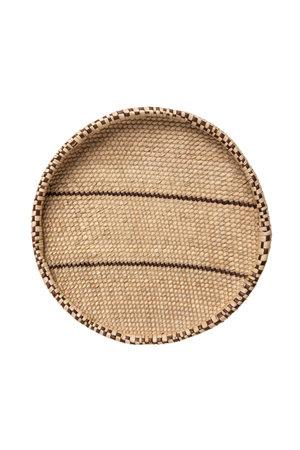 Palm leave basket - Ø36-40cm