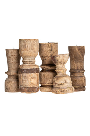Weathered candlesticks