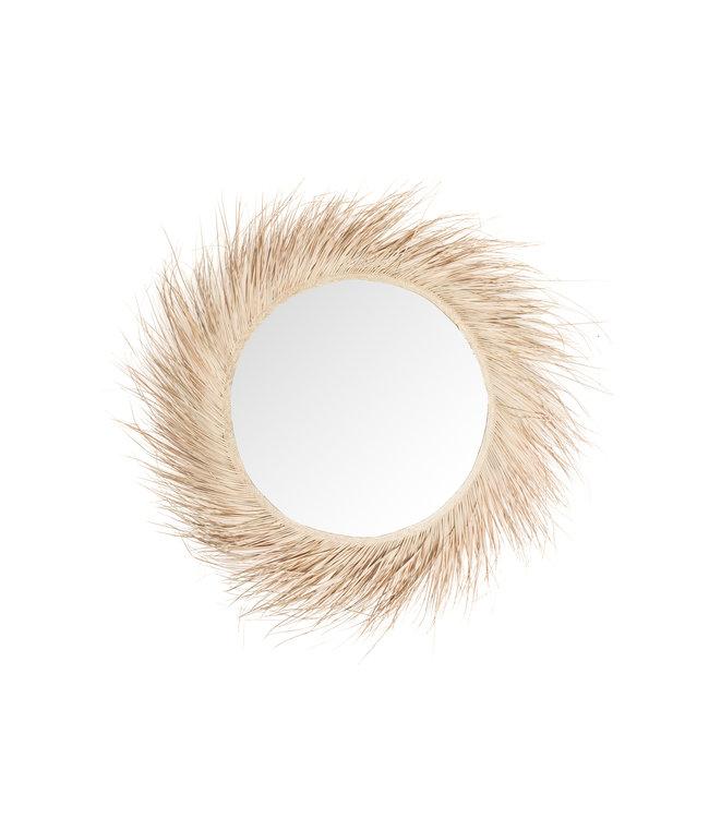 Palm spiegel met franjes