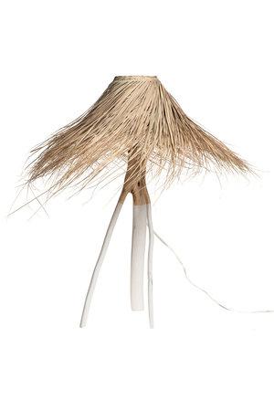 Rock The Kasbah Palm tafellamp 'Tak' - wit/naturel