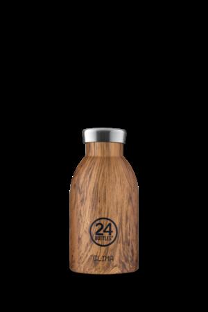 Clima Bottle - Sequoia Wood - 330ml