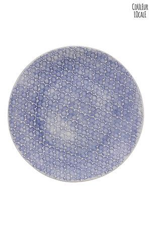 Wonki Ware Large side plate - pattern