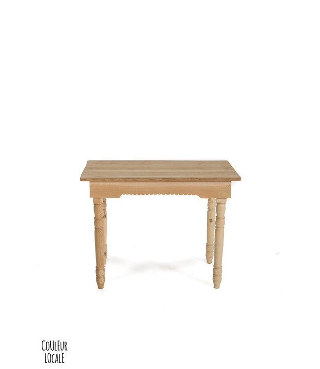 Table cedar wood