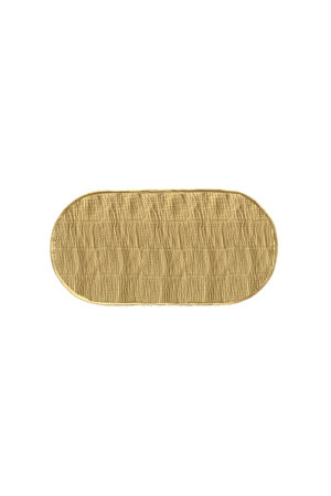 Olli Ella Luxe organic cotton liner - mustard