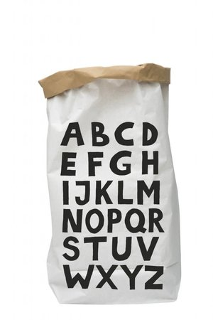 Tellkiddo Paper bag 'ABC'