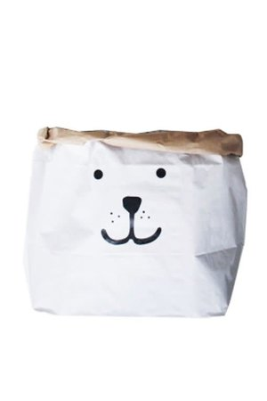 Tellkiddo Paper bag 'Bear' S